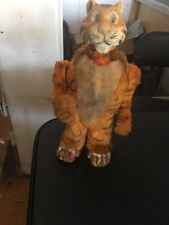 1950'S JAPAN MARX ESSO WIND UP CLOCK WORK STANDING WALKING TIGER ANIMAL TOY D23