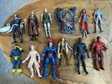 Lot of Marvel Legends, Diamond Select, and Toybiz Action Figures