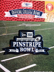 NCAA College Football Pinstripe Bowl 2019/20 Patch Michigan St vs Wake Forest