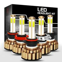 980W H4 H7 H11 9005 9006 HB3 HB4 4-seitig LED DRL Auto-Scheinwerfer Abblendlicht