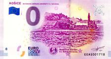 SLOVAQUIE Košice, Botanická Záhrada, 2018, Billet 0 € Souvenir