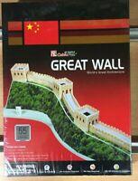 GREAT WALL 3D PRETROQUELADO CUBICFUN 55pcs,REF.C069H