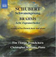 Tim Thorpe - Schubert: Schwanengesang [Tim Thorpe; Chris Williams] [CD]