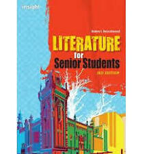 Literature for Senior Students, 3rd Edition by Robert Beardwood (Paperback. NEW
