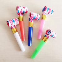 20 PCS PARTY BLOWERS BLOWOUTS BIRTHDAY LOOT BAG-FILLER NOISE FOIL TOY SUPPLY