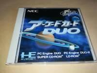 Arcade Card Duo PC Engine TurboGrafx-16 Japanese