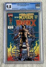 Marvel Comics Presents #72, Weapon X CGC 9.8, White Pages.