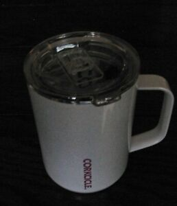 Corkcicle 16oz Coffee Mug-Stainless Steel Cup w/Handle (Sparkle Unicorn Magic)