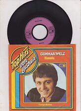 "GUNNAR WELZ - Manuela  7 "" Single"