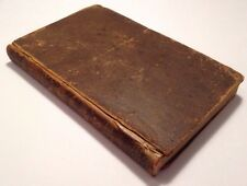 Sacred Dramas For Young Persons, Subjects From The Bible, 1799 Antique Book