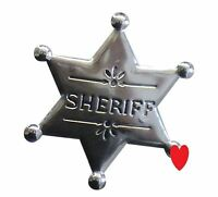 Cowboy sheriff badge sherif marshall