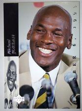 1993-94 Upper Deck SE #MJR1 Michael Jordan Retirement Card : Chicago Bulls HOF