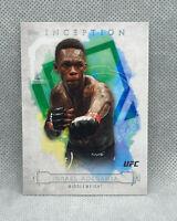 Israel Adesanya 2020 Topps UFC Knockout Inception SP Insert Card Stylebender