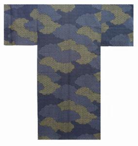 Authentic Men's Yukata / Kimono (Japanese Summer Pajama): Cloud Pattern  #955
