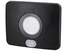 UltraSlim LED 10W Aussenfluter Flutlicht Fluter IP65 mit Sensor - warmweiß 3000K