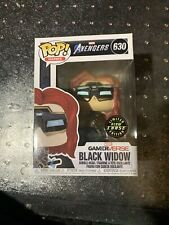 Funko Pop! Avengers Gamerverse Black Widow Gitd Glow Chase #630 New