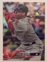 🔥2018 Topps Chrome Rafael Devers #25 REFRACTOR Rookie Card Boston Red Sox 🔥