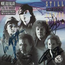 "Scorpions Autogramme signed CD Booklet ""Still Loving You"""