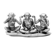 3 MONO Figura decoración Tres Sabios Japón Estatuilla de NADA escuchar ver SAGEN
