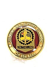 Rare United States ARMY Field Support Command Challenge Coin