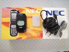 NEC E101 cellulare NON FUNZIONANTE con batteria caricabatteria auricolare