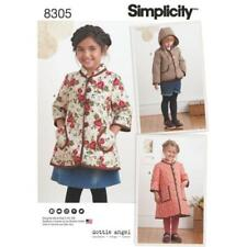 Uncut Child Coat/Jacket Sewing Patterns