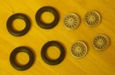 """1/43rd scale wire wheels suitable for cars with 20"""" wheels by K&R Replicas"""