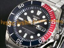 SEIKO 5 Submariner SNZF15 SNZF15K1 100m WR Hardlex Crystal !