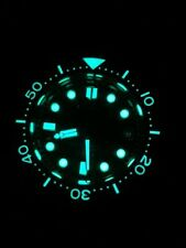 Sharkey SBDX001 NH35 Tuna Diver Automatic Wristwatch  Waffle  Band Fully Lumed
