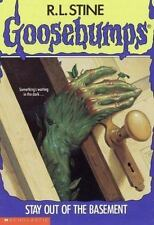 Stay Out of the Basement (Goosebumps, No 2) by R. L. Stine, Good Book