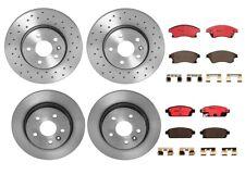 Front Rear Brembo Brake Kit Disc Rotors Ceramic Pads For Chevy Cruze Ltd Sonic
