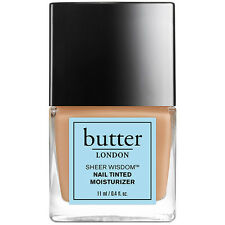 Butter London Sheer Wisdom Nail Tinted Moisturizer- Neutral- 0.4 Oz/11 Ml-No Box