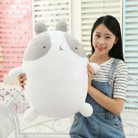 Cute White Rabbit Molang Plush Toy Bear Soft Stuffed Animal Doll Kids Gift 25CM