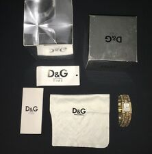 Beautiful D&G C'est Chic Watch With Diamontes Genuine RRP £250 Boxed
