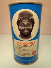 RC COLA BILL MADLOCK CHICAGO CUBS THIRD BASE BASEBALL PULL TAB SODA POP CAN