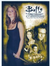 Buffy TVS 10th Anniversary Promo Card P-K