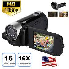 1x HD 1080P Video Digital Camera 16X Camcorder Vlog Handheld DV Night LED Vision