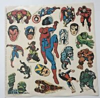 Make Mine Marvel Fan Club stickers full sheet original-vintage 1966-Marvelmania