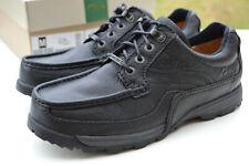 Clarks BNIB Mens Active Air Shoes RIDGEFACE GTX 2 Black Leather UK 9 / 43