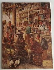 Vintage Wooden Jigsaw Puzzle The Country Store 173 Pcs E Nickerson Fall River