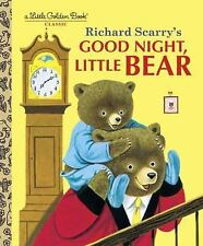 Little Golden Book: Good Night, Little Bear by Patsy Scarry (2001, Hardcover)
