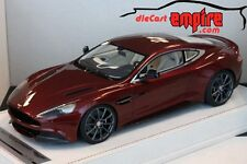 Tecnomodel 1/18 - Aston Martin Vanquish Bridge Water Bronze w/ display case
