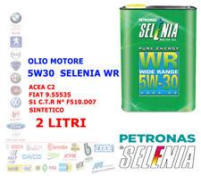 OLIO MOTORE AUTO DIESEL BENZINA SELENIA WR 5W30 2 LT ACEA C2 SINTETICO 9.55535