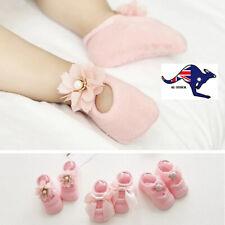 Set of 3 Newborn Booties Baby Girl Socks Gifts