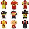 Spain Cycling Jersey Retro Road Pro Clothing MTB Short Sleeve Bike DIY