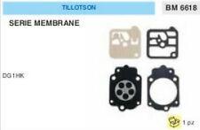 KIT SERIE MEMBRANE membrana CARBURATORE TILLOTSON DG1HK DG 1 HK