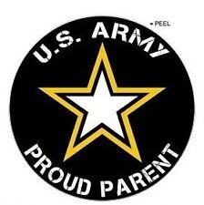 "Proud Parent - United States Army - Window Bumper Locker Sticker 2.5"""