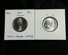 2000 May 25C Natural Legacy Canada 25 Cents