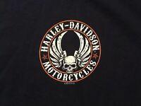 Harley Davidson Flying Skull black Shirt Nwt Men's Large