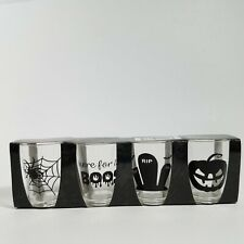 Regent Products Halloween Themed Plastic Shot Glasses 2.1 Ounces Set of 4